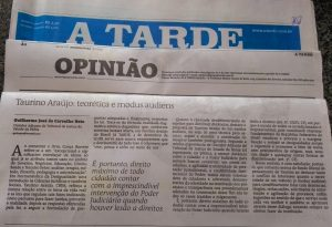TAURINO ARAÚJO TEORÉTICA E MODUS AUDIENTES